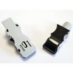 Adaptateurs pour électrodes ECG à languette et à bouton pression