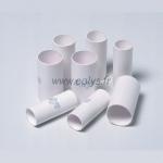Lot de 100 embouts carton mis sous blister - Dim. 20-22-57mm