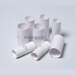 Lot de 100 embouts carton sous blister - Dim. 24-26-57mm