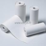 Papier thermique blanc en rouleau de 112 mm (vendu par 10)